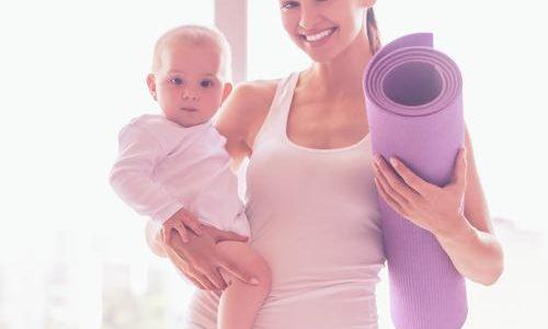 Rückbildungsyoga mit Baby