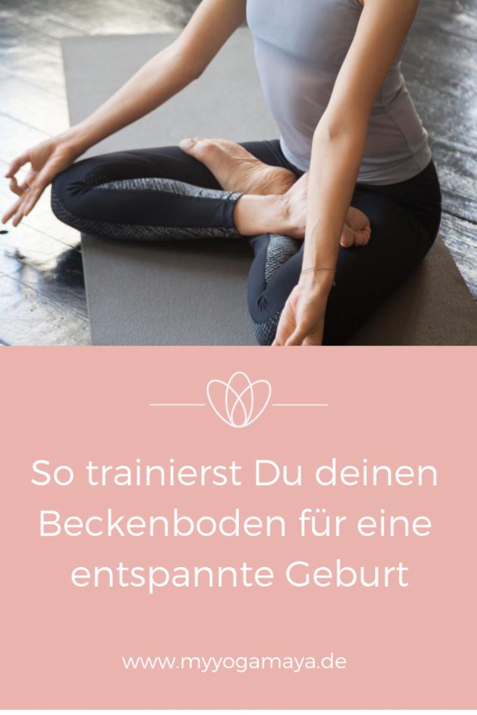 So trainierst Du deinen Beckenboden für eine entspannte Schwangerschaft und Geburt - Yogamaya