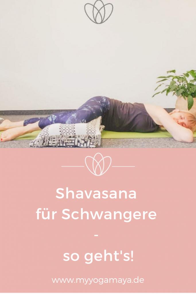 Shavasana für Schwangere - yogamaya