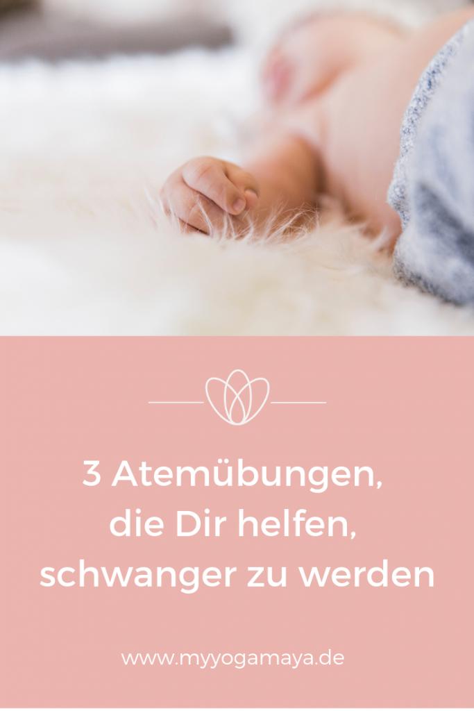 3 Atemübungen, die Dir helfen, schwanger zu werden - Yogamaya