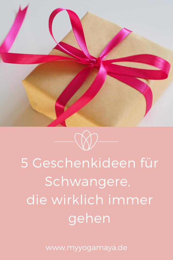 5 Geschenkideen für Schwangere