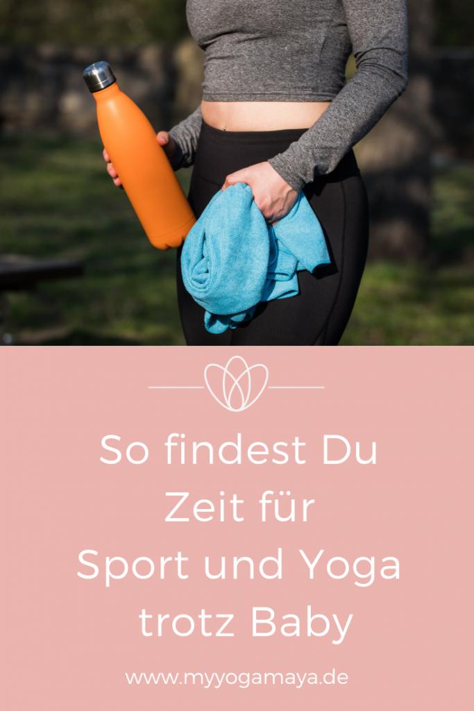 Zeit für Sport trotz Baby yogamaya