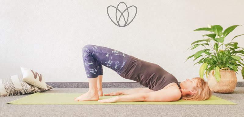 yogamaya übungen Bauchmuskeln Rektusdiastase Indische Brücke