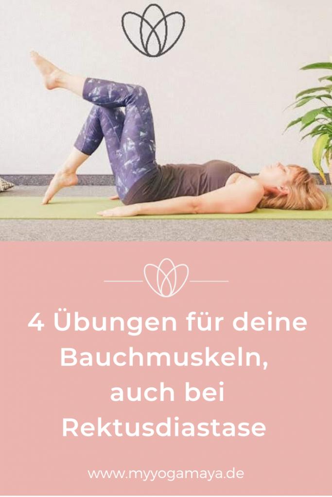übungen für deine Bauchmuskeln auch bei rektusdiastase yogamaya