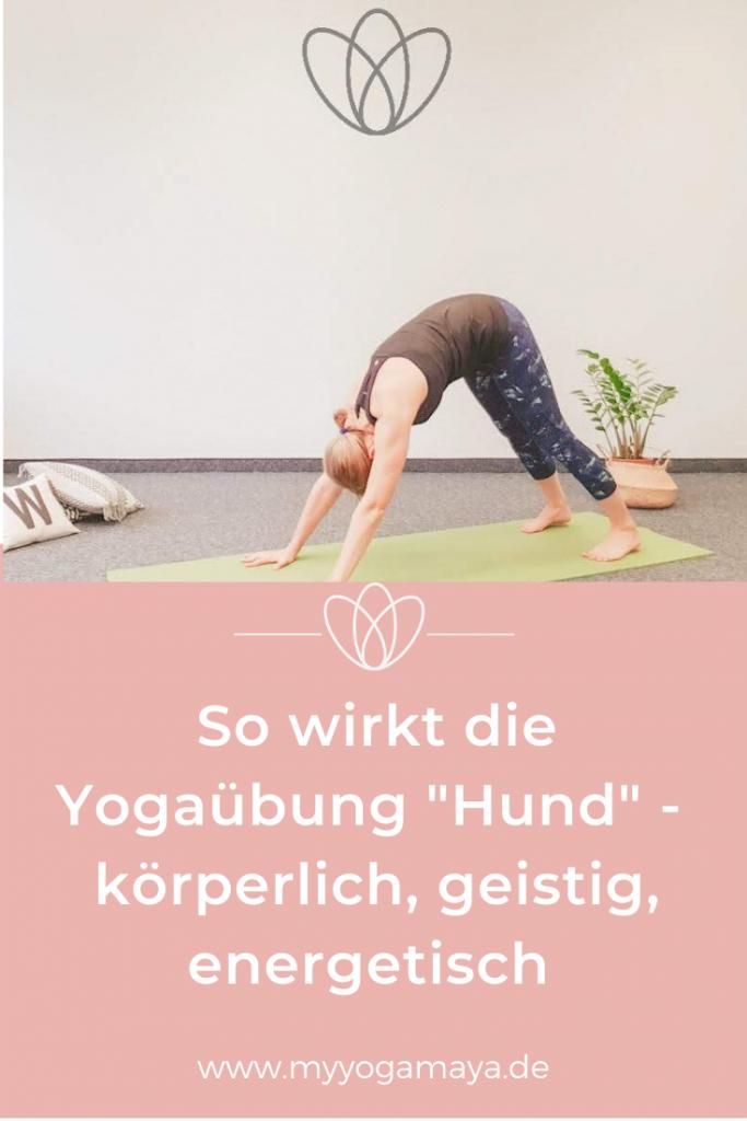 So wirkt die Yogastellung Hund - körperlich, geistig, energetisch