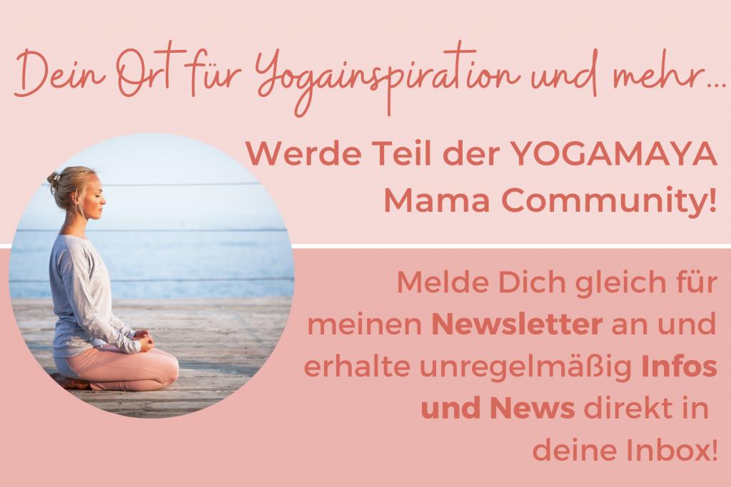 yogamaya Newsletteranmeldung-allgemein